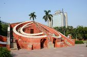 Jantar Mantar- Medieval Observatory In Delhi, India