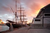 picture of fleet  - The James Craig vessel from the Sydney Heritage Fleet in Pyrmont - JPG