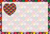 Crazy Dots Heart