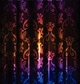Neon curtains