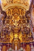 Basilica Altar Piece Church Of El Salvador Seville Andalusia Spain