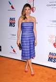 LOS ANGELES - MAY 03:  Daisy Fuentes arrives to the Race To Erase MS 2013  on May 03, 2013 in Centur