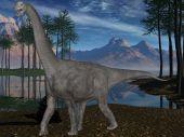 Camarasaurus-3D Dinosaur