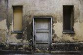 Ruined Wall - Door And Windows