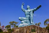 Nagasaki Peace Statue in Nagasaki Peace Park