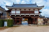 The Gate of Hiroshima castle