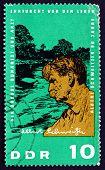 Postage Stamp Gdr 1965 Dr. Albert Schweitzer