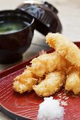 Fried Shrimp Tempura.