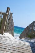 Sandy Beach Boardwalk.
