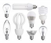 Collecti Of Light Bulbs