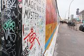 BERLIN GERMANY - NOVEMBER 16: The Berlin Wall