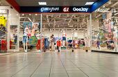 Samara, Russia - May 25, 2014: Gloria Jeans Department At The Mall. Gloria Jeans Is A Russian Compan