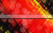 Abstract Tartan Like Background Title Card