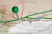 Billings City Pin On The Map