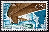 Postage Stamp France 1966 Oleron Bridge