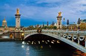 Bridge of Alexandre III,  Paris, France