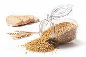 Wheat Bread And Wheat Grains