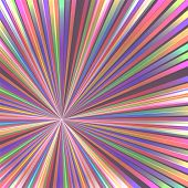 Abstract Colorful Rays. Vector