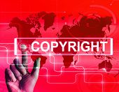 Copyright Map Displays International Patented Intellectual Property