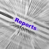 Reports Sphere Definition Displays Statistical Diagram Or Company Financial Reviews
