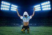 Argentine Player Celebrate Winning 1