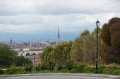 Dramatic Sky Over Torino