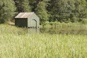 Green boatshed