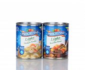 Two Cans Progresso Light Soup