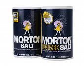 Two Boxes Of Morton Salt,