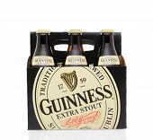 Guinness Extra Stout Six Pack Side View