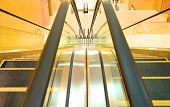 The escalator closeup