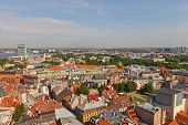View Of Old Town (unesco Site). Riga, Latvia