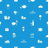 restaurant and pub seamless pattern eps10