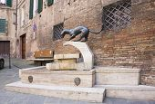 Advertising Sculpture Sienese Contrada
