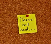 Notice Board With Sticky Note Pad