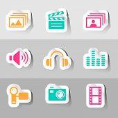Multimedia Vectors Set