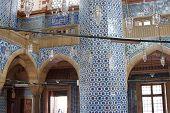 Mosaics Decorating     Rustem Pasha Mosque