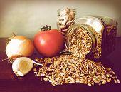 Soup Ingredients: Fresh Tomato, Garlic,onion, Borlotti Beans, Emmer (italian Farro).