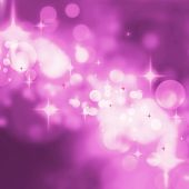 Abstract Purple Stars Background Luxury Christmas Holiday
