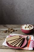 Crisp Bread On A Plate