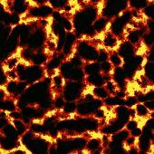 Seamless Lava Texture