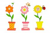 Colorful flowers inventions