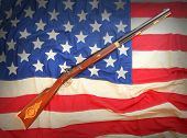 The Great Plains Rifle was a muzzle loading rifle used on the prairies and in the Rocky Mountains of the United States during the early frontier days in 19th century.