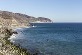 PCH north of Malibu near Point Mugu State Park in Southern California.