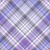 Blue, White And Violet Gingham Pattern