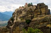 Holy Orthodox Monastery At Meteora