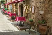 Small Restaurants - Picturesque nook of Tuscany