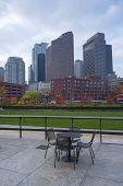Beautiful Skyline Of Boston