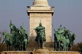 Hero Square in Budapest