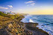 Sintra, Portugal coastline on the Atlantic Ocean.